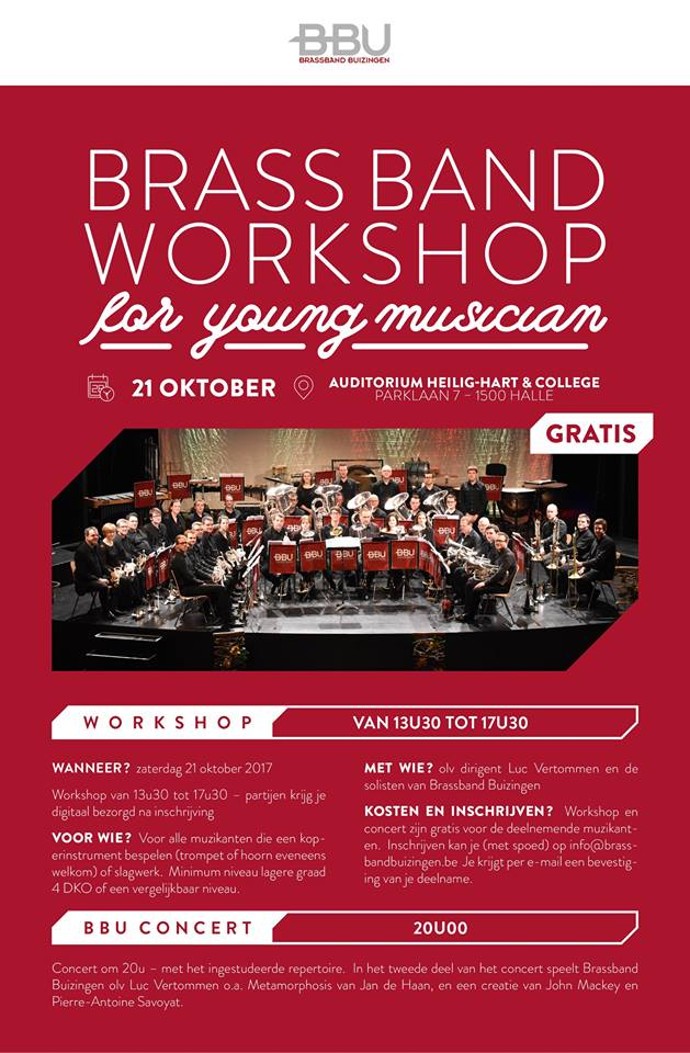 Brassbandworkshop 2017